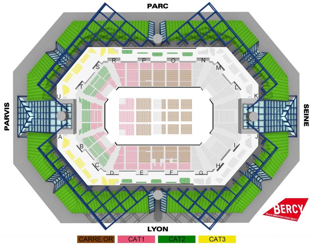 Bercy paris plan bercy paris for Interieur u arena