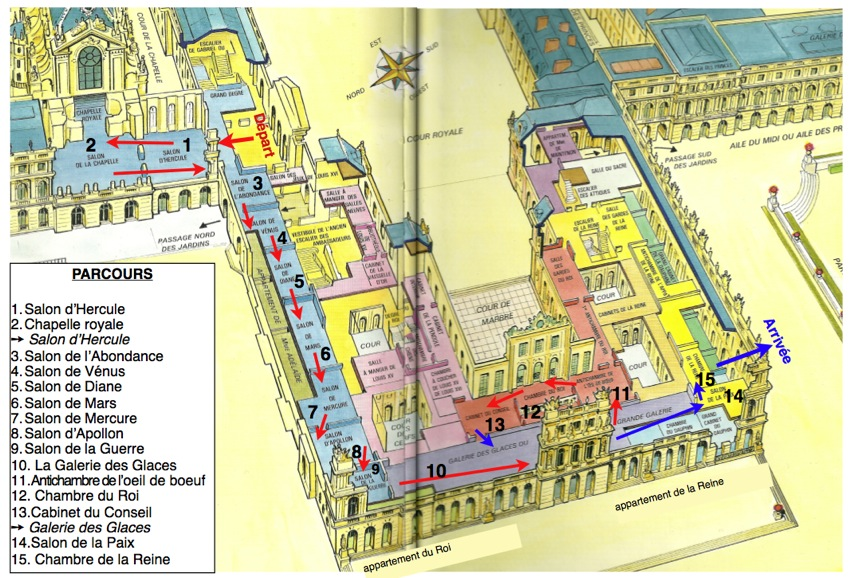 Chateau Versailles Plan Chateau Versailles