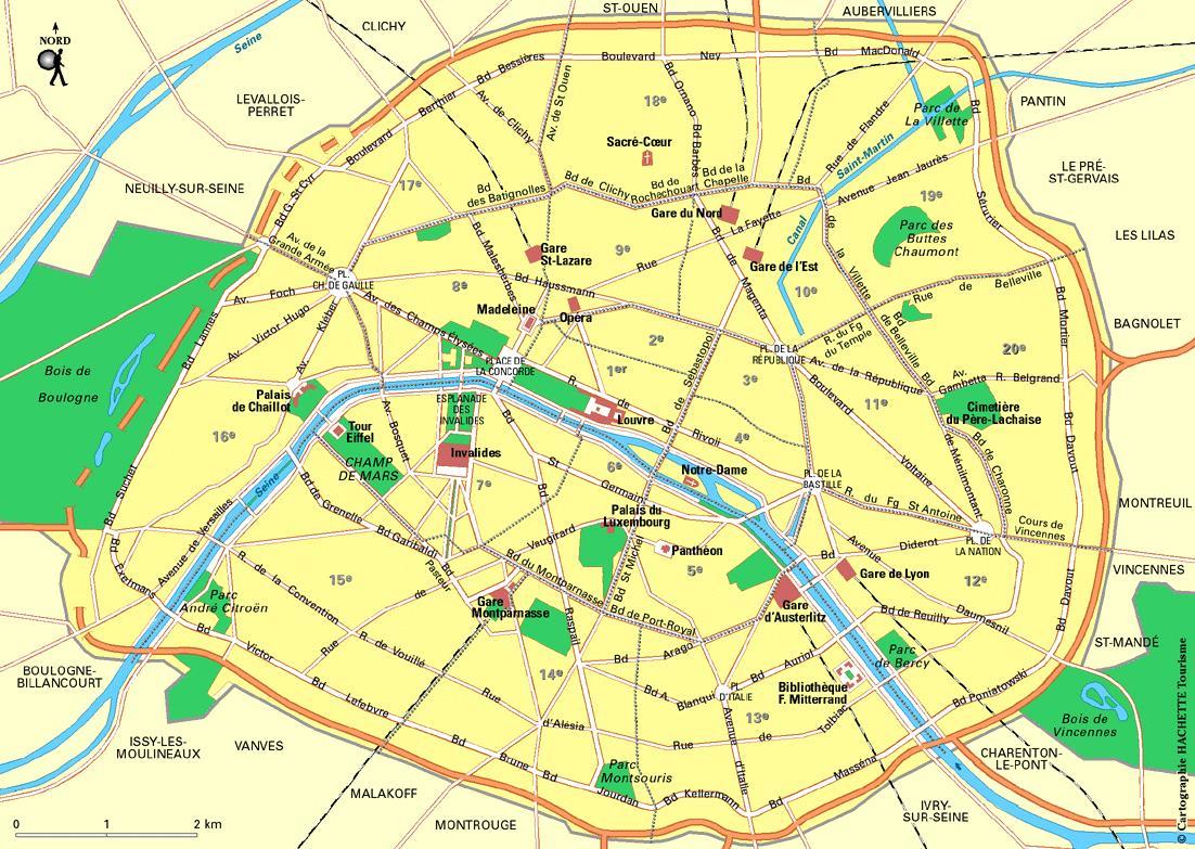 plan-de-paris - Photo